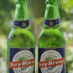 SeyBrew bottles on Veranda